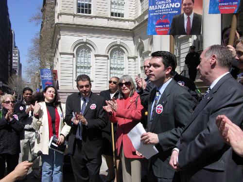 Manzano Borough President Campaign Kickoff